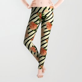 Chrysanthemum Rain Leggings