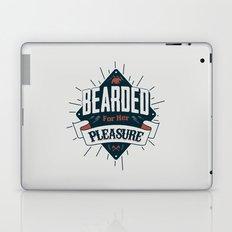 BEARDED FOR HER PLEASURE Laptop & iPad Skin