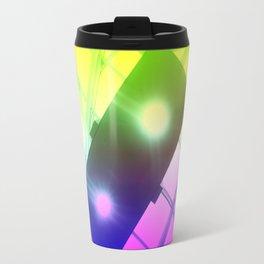 Urban Psychedelic Lights Travel Mug
