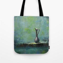 Pewter Vase Tote Bag