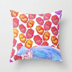 Diamond Pollen Throw Pillow