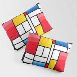 Mondrian in a different way - RUG Pillow Sham