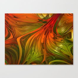 A Tortured Mind Canvas Print