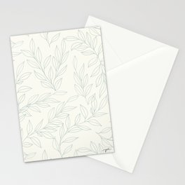 Traditional Floral Linework - Pattern Stationery Cards