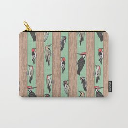 Woodpeckers Pecking Carry-All Pouch