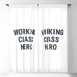 Working Class Hero Blackout Curtain