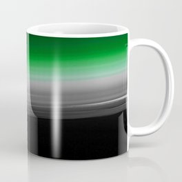 Green Gray Black Ombre Coffee Mug