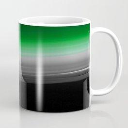 Green Gray Black Ombre Coffee Mug