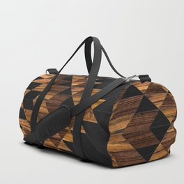 Urban Tribal Pattern No.11 - Aztec - Wood Duffle Bag