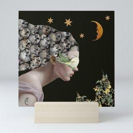 To The Moon And Stars Mini Art Print