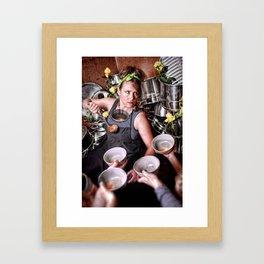 Give Until It's Gone Framed Art Print