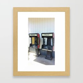 Where have all the pay phones gone? #5 Framed Art Print