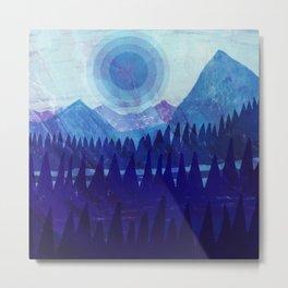 Purple Mountain Majesties Metal Print