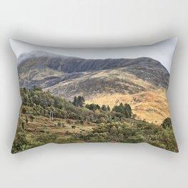 Hills of the Western Highlands, Scotland Rectangular Pillow