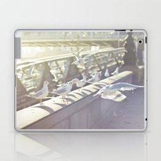 Birds playing on sunshine Laptop & iPad Skin