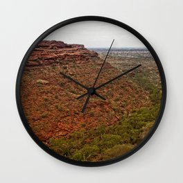 Kings Canyon from the Rim Walk Wall Clock