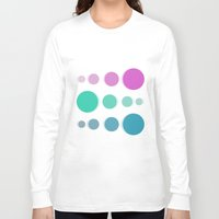 bubbles Long Sleeve T-shirts featuring Bubbles by Cs025