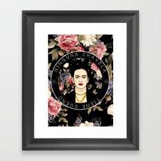 Ninguna Chavela Tiene Dueño Framed Art Print