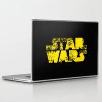 starwars Laptop & iPad Skins featuring StarWars  by WaXaVeJu