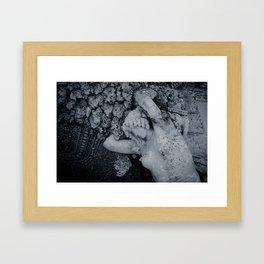 Burden Framed Art Print