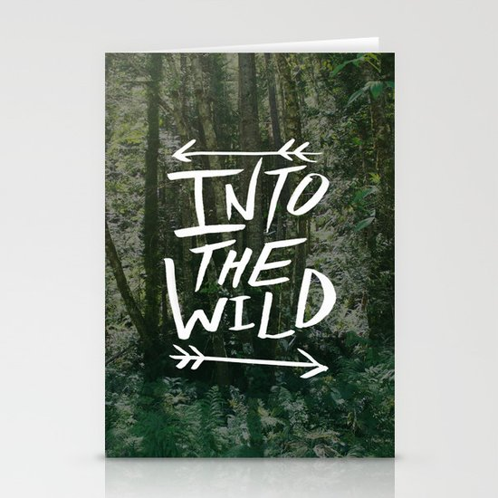 Into the Wild III Stationery Cards