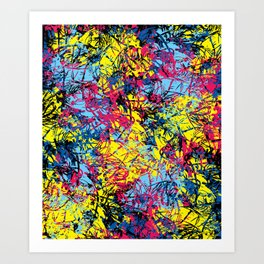 Abstract 6 Art Print