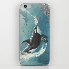 Underwater Love at First Sight iPhone Skin