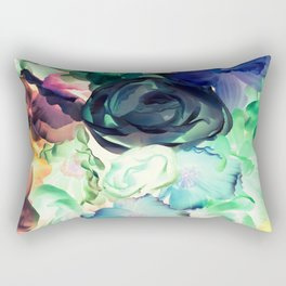 Flower Aura Rectangular Pillow