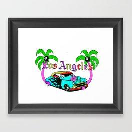L0S ANGELES Framed Art Print