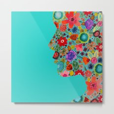 dream on, little flower Metal Print