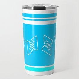 Blue Party Travel Mug