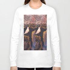 Snakeskin landscape Long Sleeve T-shirt