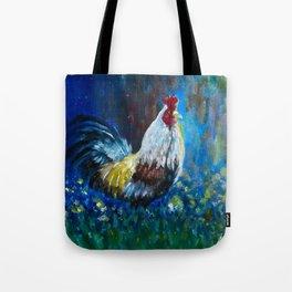 Rooster II Tote Bag