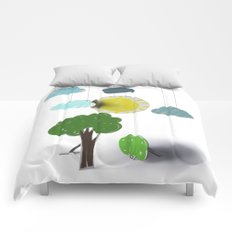Sunny Day 3D Paper Craft Comforters