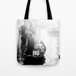 Gondoliers in Venice Tote Bag