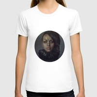 raven T-shirts featuring Raven by Flo Tucci