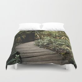 Path to Happiness Duvet Cover