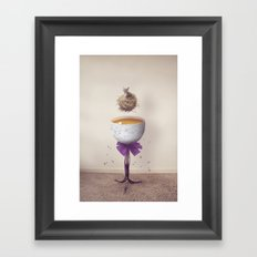 King Rabbit Framed Art Print
