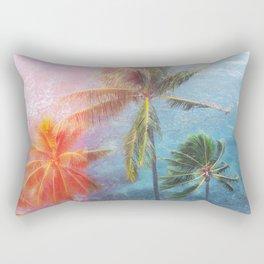 Tropical sun Rectangular Pillow