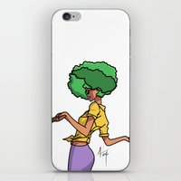 sassy iPhone & iPod Skins featuring Sassy by Hannah  Aryee