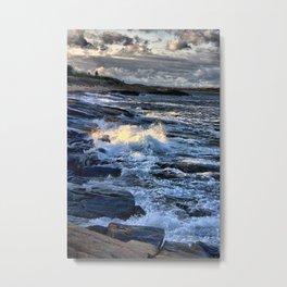 Newton's Rock, Narragansett, RI #24 Metal Print