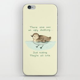 Ugly Duckling iPhone Skin