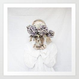 dead flowers gift Art Print