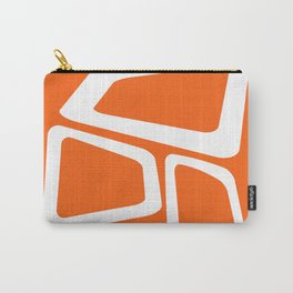 Mid Century In Burnt Orange Carry-All Pouch