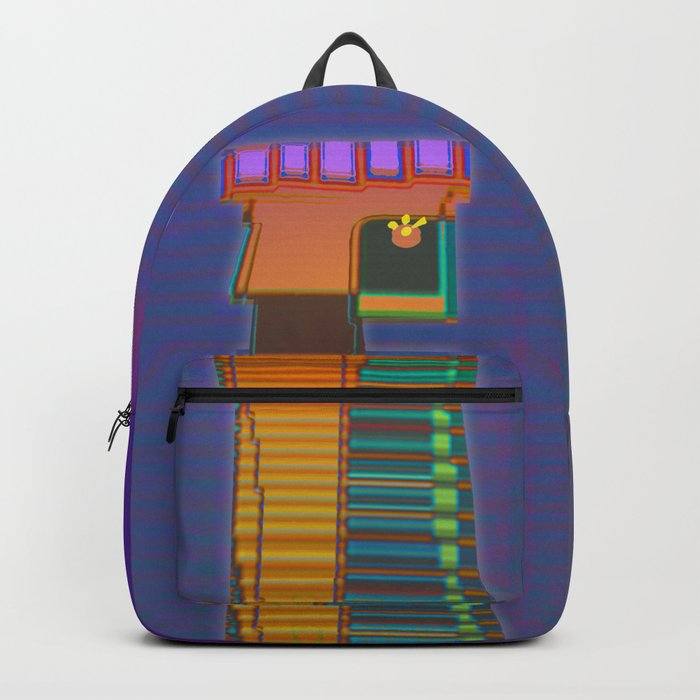 QUEEN / Black / Chess Backpack