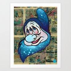 Bashful 3 Eye Art Print