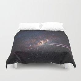 intergalactic space travel Duvet Cover