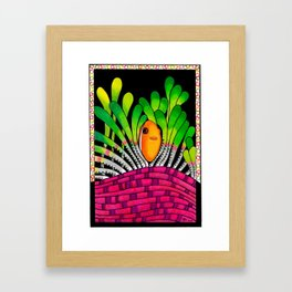Hangin' Out Framed Art Print