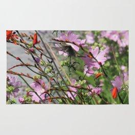 Hummingbird in Flight 2 Rug