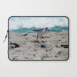 Little Bird on the Seashore Laptop Sleeve